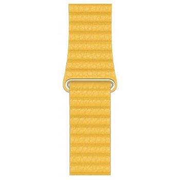 Apple MXAE2ZM A accesorio de relojes inteligentes Grupo de rock Amarillo Cuero