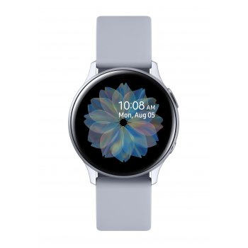"Samsung Galaxy Watch Active2 reloj inteligente Plata SAMOLED 3,05 cm (1.2"") GPS (satélite)"