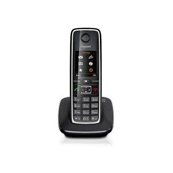 Gigaset C530 Teléfono DECT Negro Identificador de llamadas