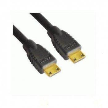 Nilox 1m Mini-HDMI M M cable HDMI HDMI Type C (Mini) Negro