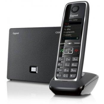 Gigaset C530 IP teléfono IP Negro Terminal inalámbrico