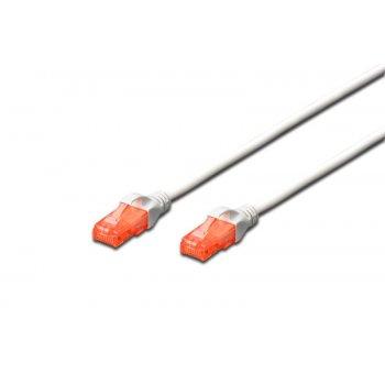Digitus DK-1617-020 WH cable de red 2 m Cat6 U UTP (UTP) Blanco