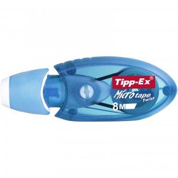 TIPP-EX Micro Tape Twist corrección de películo cinta Azul 8 m 10 pieza(s)