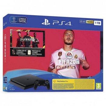 Sony PlayStation 4 + FIFA 20 Negro 1000 GB Wifi