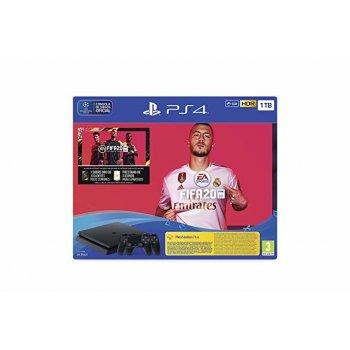 Sony PlayStation 4 + Dualshock 4 + FIFA 20 + Voucher Negro 1000 GB Wifi