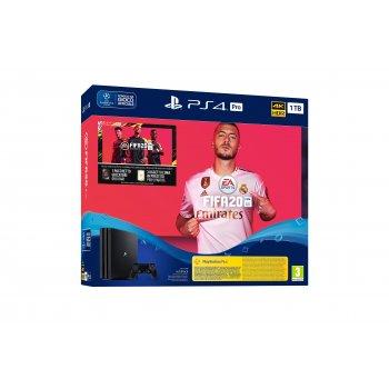 Sony Playstation 4 Pro + FIFA 20 + Voucher Negro 1000 GB Wifi