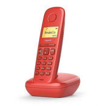 Gigaset A270 Teléfono DECT Rojo Identificador de llamadas