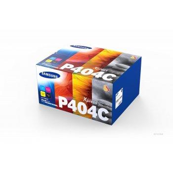Samsung CLT-P404C Original Negro, Cian, Magenta, Amarillo 4 pieza(s)