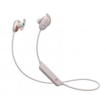 Sony WI-SP600NP auriculares para móvil Binaural Dentro de oído Rosa