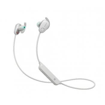 Sony WI-SP600NW auriculares para móvil Binaural Dentro de oído Blanco