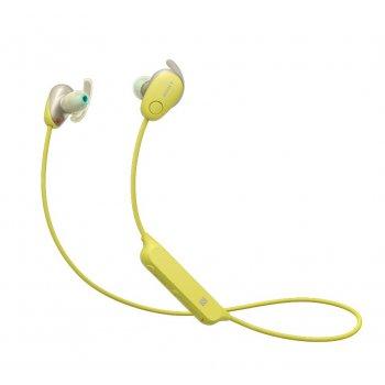 Sony WI-SP600NY auriculares para móvil Binaural Dentro de oído Amarillo