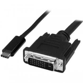 StarTech.com Cable Adaptador Conversor USB-C a DVI - 2m - 1920x1200