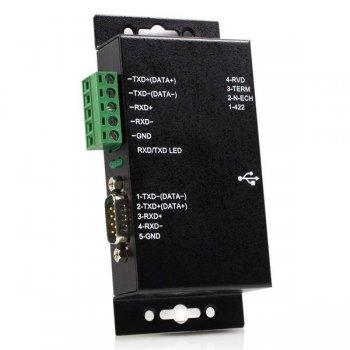StarTech.com Adaptador USB a Serie Serial RS422 485 un Puerto DB9 o Bloque de Conexión con Aislamiento