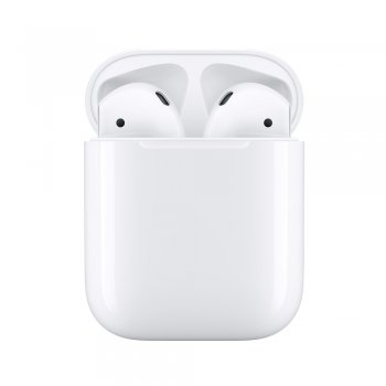 Apple AirPods auriculares para móvil Binaural Dentro de oído Blanco