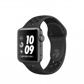 Apple Watch Nike+ reloj inteligente Gris OLED GPS (satélite)