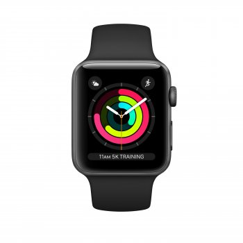Apple Watch Series 3 reloj inteligente Gris OLED GPS (satélite)