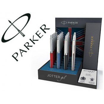 Boligrafo parker jotter gel expositor 20 unidades colores surtidos