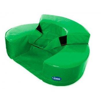 Sillon sumo didactic bebe 60x15 cm verde
