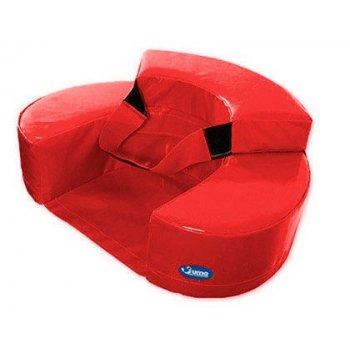 Sillon sumo didactic bebe 60x15 cm rojo