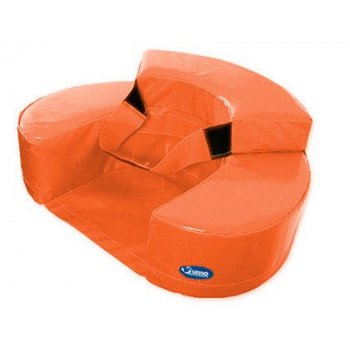 Sillon sumo didactic bebe 60x15 cm naranja