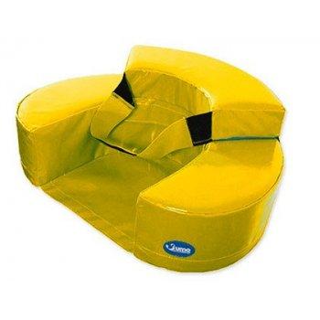 Sillon sumo didactic bebe 60x15 cm amarillo