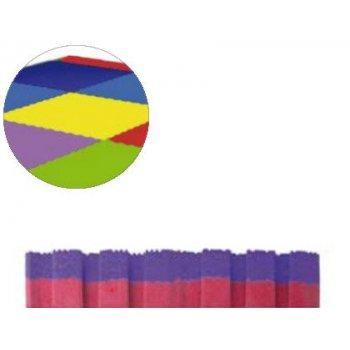 Puzzle escolar sumo didactic bicolor 100x100x2 cm lila rojo