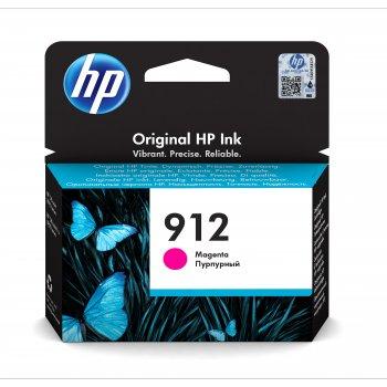 Cartucho de Tinta 3YL78AEBGY | HP 912 Original Magenta