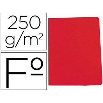 Subcarpeta cartulina gio simple intenso folio rojo 250g m2