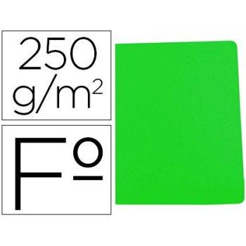Subcarpeta cartulina gio simple intenso folio verde 250g m2