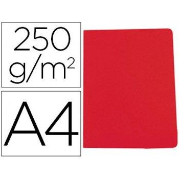 Subcarpeta cartulina gio simple intenso din a4 rojo 250g m2