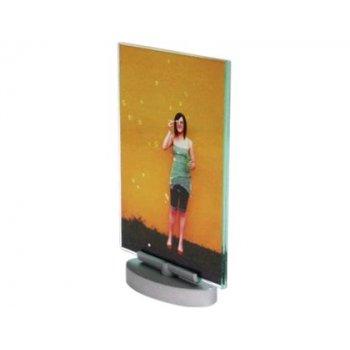 Expositor sobremesa deflecto metacrilato din a4 vertical giratorio 215x328x65 mm