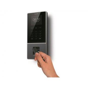 Controlador de presencia safescan timemoto tm-626 con codigo pin tarjeta rfid o huella hasta 200 usuarios