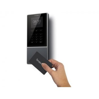 Controlador de presencia safescan timemoto tm-616 con codigo pin o tarjeta rfid hasta 200 usuarios