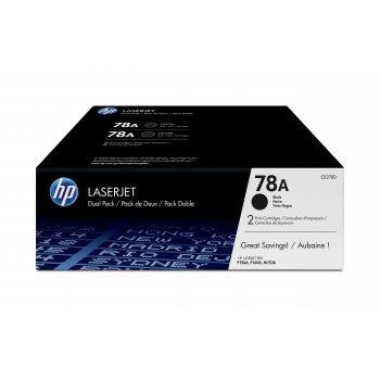 Tóner CE278AD | HP 78 Original Negro XL Pack 2