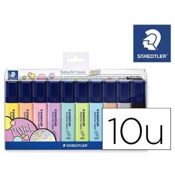 Rotulador textsurfer classic 364 pastel & vintage bolsa de 10 unidades colores surtidos