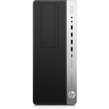 HP EliteDesk 800 G5 9na generación de procesadores Intel® Core™ i7 i7-9700 16 GB DDR4-SDRAM 512 GB SSD Negro Torre PC