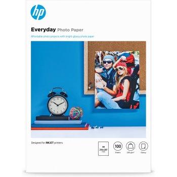 HP Q2510A papel fotográfico Negro, Azul, Blanco A4