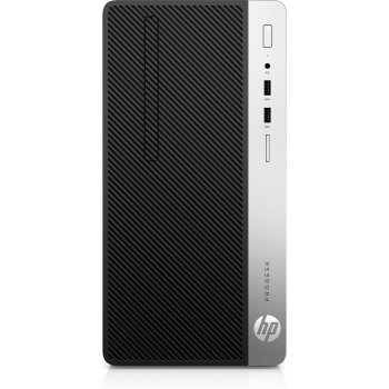 HP ProDesk 400 G6 9na generación de procesadores Intel® Core™ i5 i5-9500 8 GB DDR4-SDRAM 256 GB SSD Negro Micro Torre PC