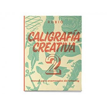 Libro de caligrafia rubio creativa 2 150 paginas tapa dura 27x21 cm