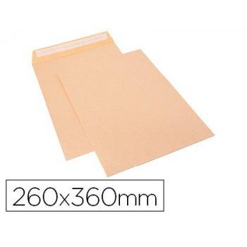 Sobre sam bolsa celulosa chamoix 90 gr tira de silicona 260x360 mm tira silicona caja 250 unidades