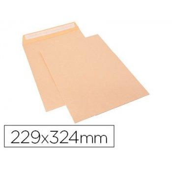 Sobre sam bolsa celulosa chamoix 90 gr tira de silicona 229x324 mm tira silicona caja 250 unidades