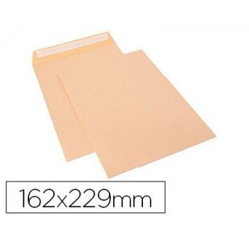 Sobre sam bolsa celulosa chamoix 85 gr tira de silicona 162x229 mm tira silicona caja 250 unidades