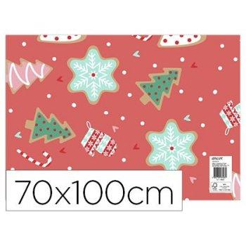 Papel fantasia ancor navidad 70 x 100 cm 80 gr modelo 32