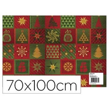 Papel fantasia ancor navidad 70 x 100 cm 80 gr modelo 5