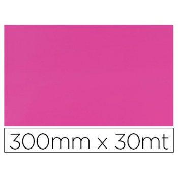 Papel fantasia colibri simple mate rosa bobina 300 mm x 30 mt