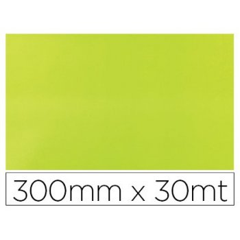 Papel fantasia colibri simple verde acido bobina 300 mm x 30 mt