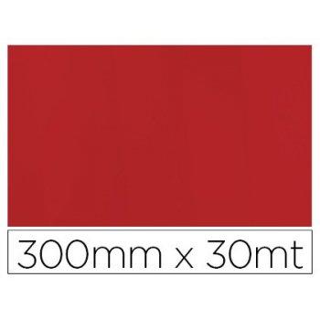 Papel fantasia colibri simple mate rojo bobina 300 mm x 30 mt