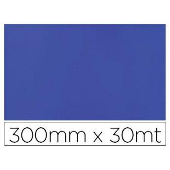 Papel fantasia colibri simple mate azul bobina 300 mm x 30 mt
