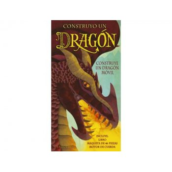 Libro larousse construyo un dragon tapa cartone 32 paginas 365x195 mm