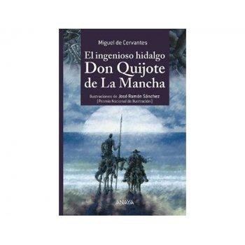 Libro anaya el ingenioso hidalgo don quijote tapa cartone 1392 paginas 250x170 mm